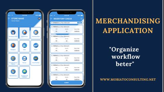 Merchandising Application For Businesses